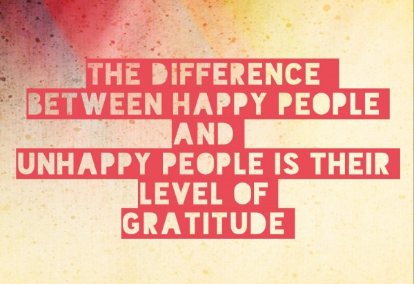 difference between happy and unhappy people