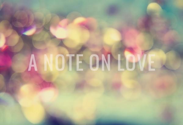 NoteOnLove
