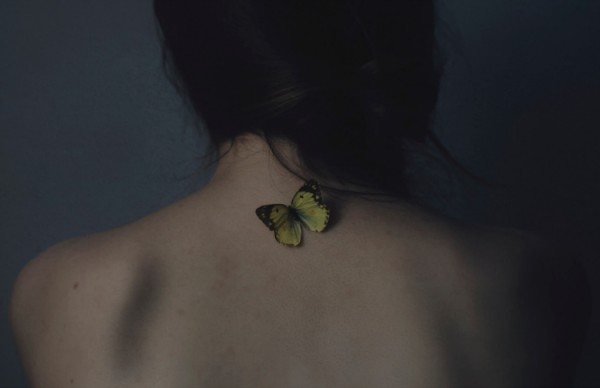 Andrea Peipe Butterfly girl