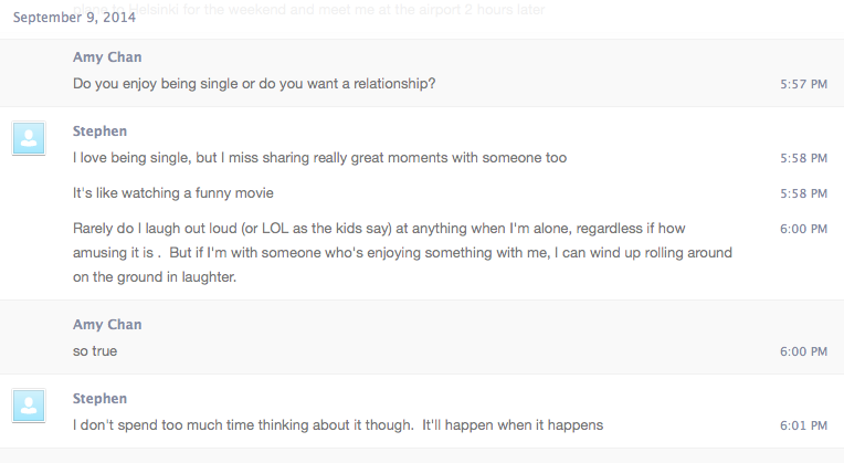 What to say on online dating chat