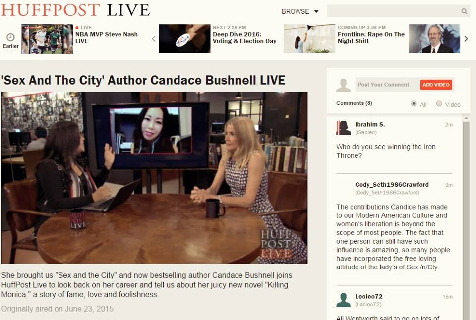amy chan huffington post live