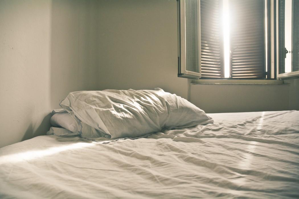 empty bed by R. Amal Serena